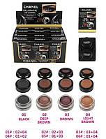 0220  Chanel 4 в 1  eyebrow eyeliner.(№1,2,3.4.5.6.)