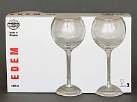 Бокалы для вина Эдем 3 шт. 350 мл