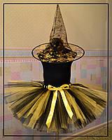 Костюм ведьмочки желто-черный
