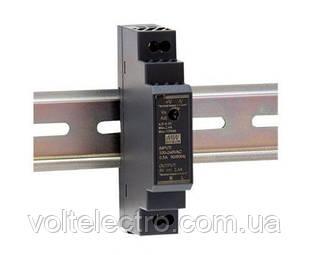 Блок питания Mean Well HDR-15-12 На DIN-рейку 15 Вт; 12 В; 1,25A