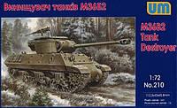 1:72 Сборная модель ПТ-САУ M36B2 'Jackson', Unimodels 210;[UA]:1:72 Сборная модель ПТ-САУ M36B2 'Jackson',