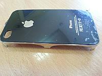 Чехол накладка  для iphone 4/4s имитация задней крышки