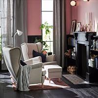 Кресло STRANDMON светло-бежевое