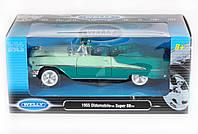 """Машина Welly """"OLDSMOBILE SUPER 88 1955"""", метал., масштаб 1:24, в кор. см (12шт) (22432W)"""