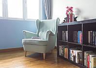 Кресло STRANDMON светло-бирюзовое