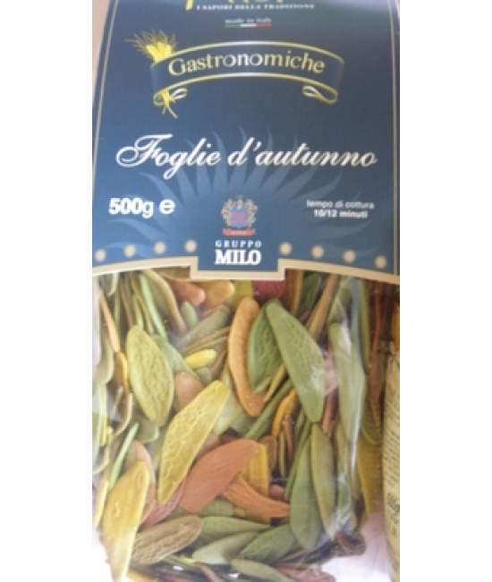 Макароны цветные Fatoma foglie d'autunno 500гр
