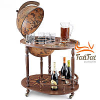 Напольный глобус бар со столиком Zoffoli