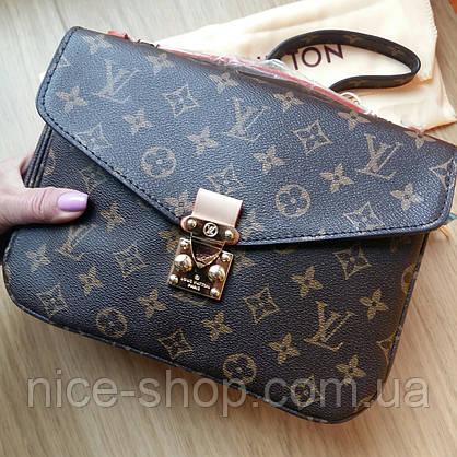 Сумка Louis Vuitton Metis кожа монограмм в коробке, фото 2