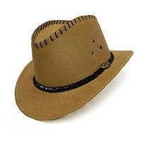 Шляпа Ковбоя замша