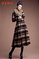 Высокая мода шерстяное пальто 2 цвета