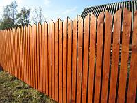 Заборы деревянные из сосны 2000х1700 мм (L=2000,H=1700) «Кремль»