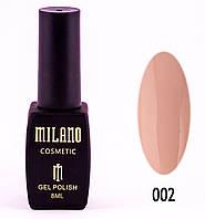 Гель лак MILANO 002, 8 мл