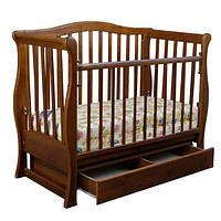 Детская кроватка «VIVA» premium орех, фото 1