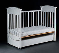 Детская кроватка «Napoleon VIP» белая, фото 1