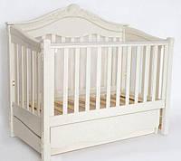 Детская кроватка «VIVA Victoria» ваниль, фото 1