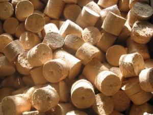 Брикет древесный