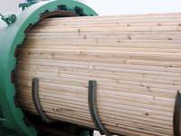 Импрегнация деревянных стропильных систем, балок, лаги
