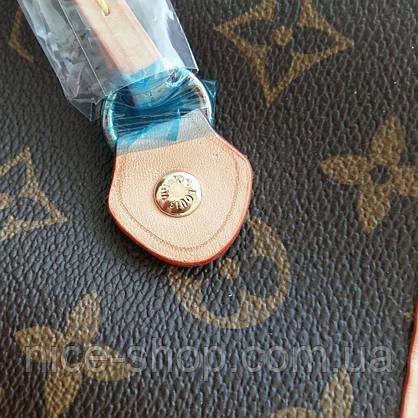 Сумка Louis Vuitton Neverfull Меdium кожа, монограмм классика, фото 3