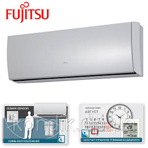 Кондиционер Fujitsu ASYG12LTCA/AOYG12LTC Deluxe Slide инвертор, фото 2