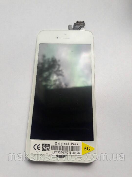 Дисплейный модуль на Iphone 5 белый