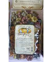 Макароны цветные Pasta Artigianale Cappelli 500гр