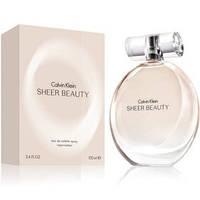 """Calvin Klein """"Sheer Beauty"""" edt 100 мл (Женская Туалетная Вода Реплика) (Люкс) Женская парфюмерия Реплика"""