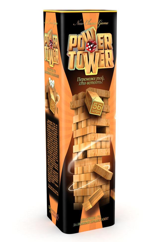 Гра настільна Power Tower Danko Toys 56 брусків