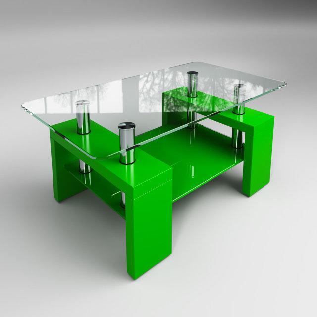 Стол журнальный Престиж мини зеленый (Sentenzo TM)