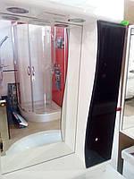 Зеркало в ванную с подсветкой ДСП 16 мм(черное)