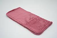 Плед одеяло для собак и котов Флис бордовый №0 400х400
