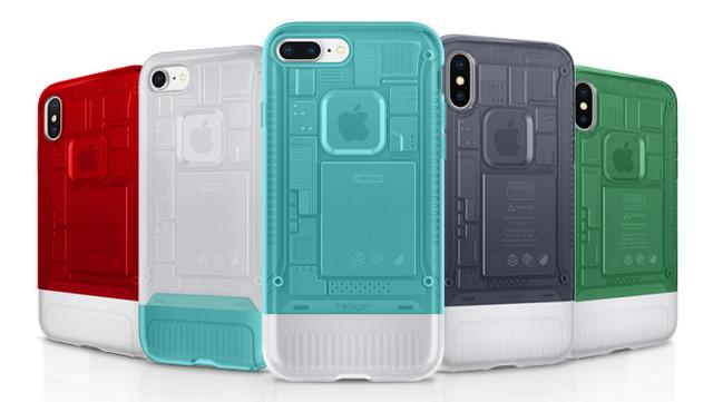Classic C1: Чехлы Spigen для iPhone X и iPhone 8/8 Plus, созданы в стиле iMac G3