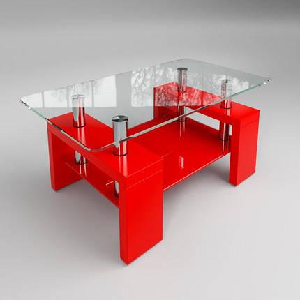Стол журнальный Престиж мини красный (Sentenzo TM), фото 2