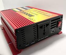 Перетворювач Power Inverter 2500W (DC 12V to AC220V), фото 2