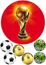 Вафельная картинка Футбол 5