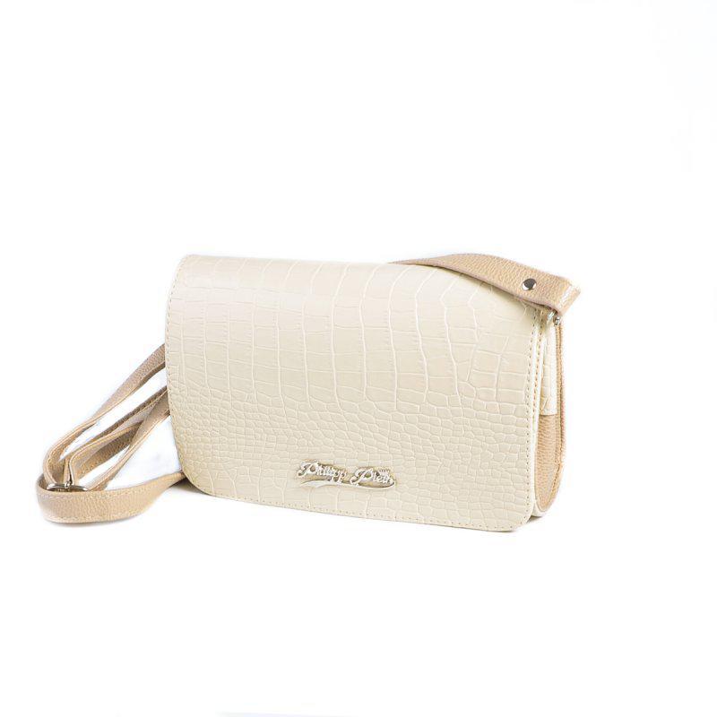 fb3deaac619f Бежевая женская сумка-клатч через плечо М63-12/66 - Интернет магазин сумок