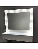 Зеркало Шарлотт с ящиками гримерное