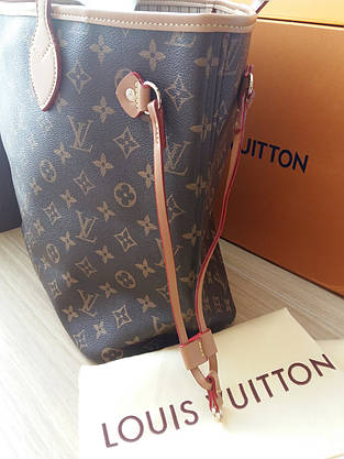 Сумка Louis Vuitton Neverfull Меdium монограмм классика, фото 3