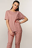 Блуза Хейди трикотаж цвет розовый Ри Мари р.42-52, фото 4