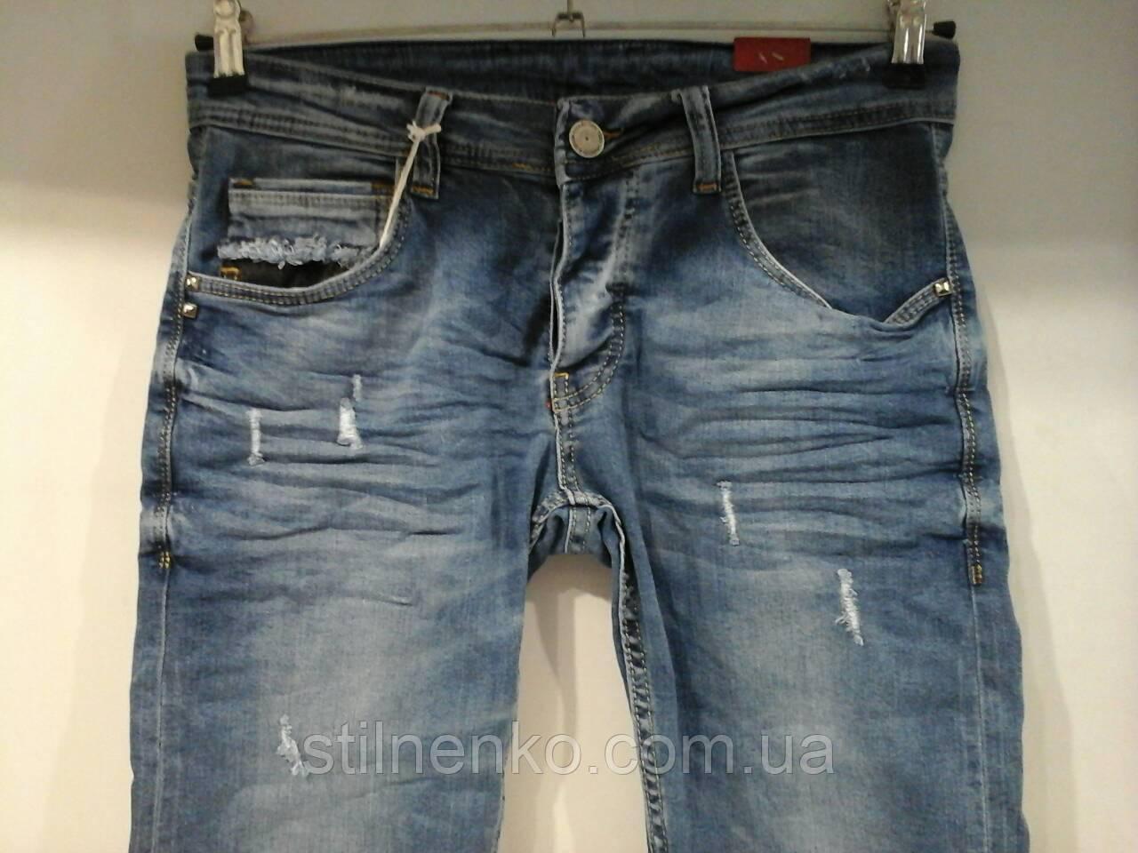 Мужские джинсовые шорты  JECKERSON