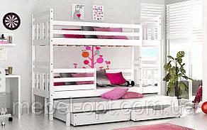Двухъярусная кровать Джоси 80х190 см. Mr.Mebl