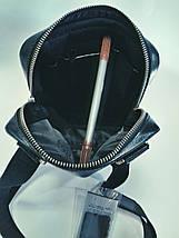 Сумка барсетка мужская из натуральной кожи , фото 2