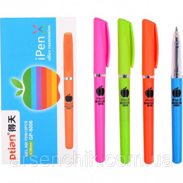 Ручка гелевая GP-8006 «I PEN X» синяя