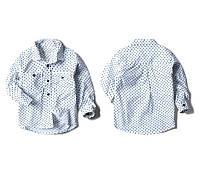 Рубашка Горох (бел) 128, фото 1