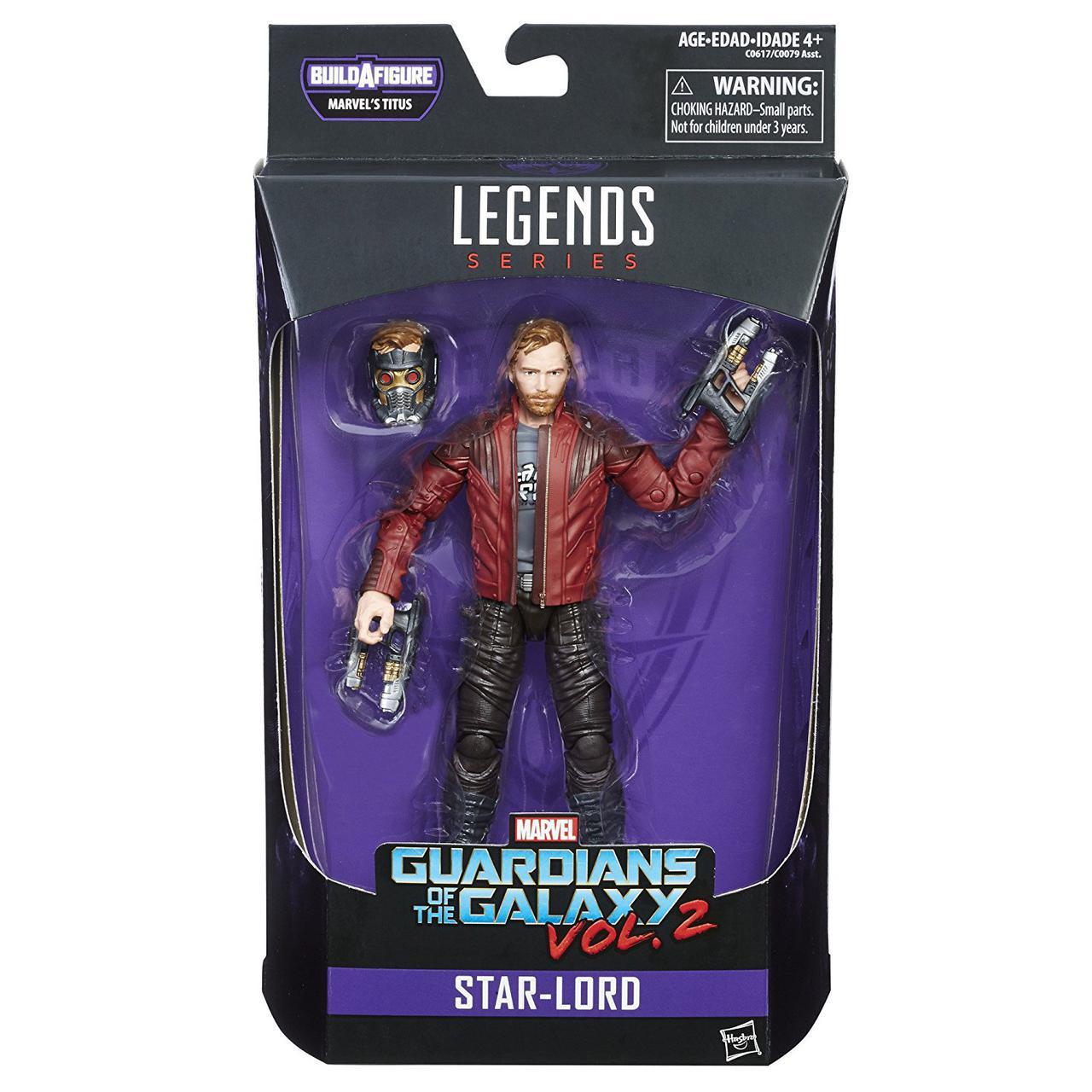 "Фигурка Звездного Лорда ""Стражи Галактики"", 15 см -Star-Lord, Galaxy Legends, Marvel's Titus, Hasbro"