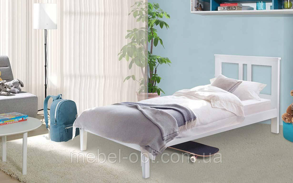 Деревянная кровать Бесси 80х190 см MrMebl