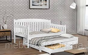 Деревянная кровать Юнис 80х190 см MrMebl