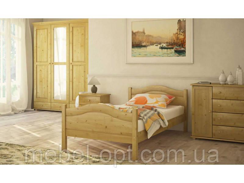 Деревянная кровать Л-108 80х190 см Скиф