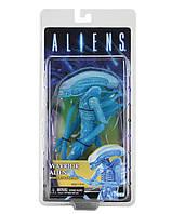 "Фигурка Чужой ""Воин"" - Blue Warrior, Alien Attacker, Series 7, Neca, фото 1"