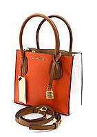 Женская сумка в стиле Michael Kors Mercer orange, фото 1