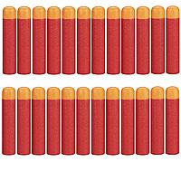 Набор из 24 стрел (мягкие пули) для игрушечного оружия Nerf Mega (Мега), фото 1